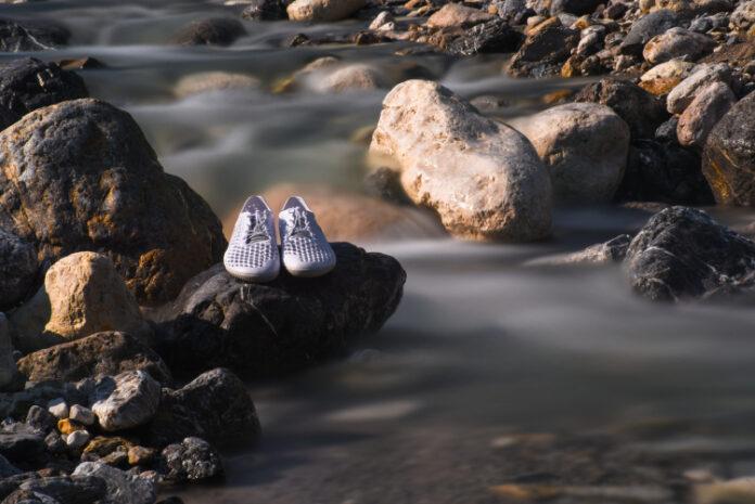 Le scarpe prodotte con le alghe, scelta a tutela dell'ambiente