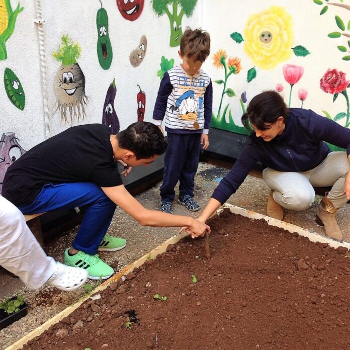 I bambini sono fiori, un progetto di ortoterapia per i più piccoli