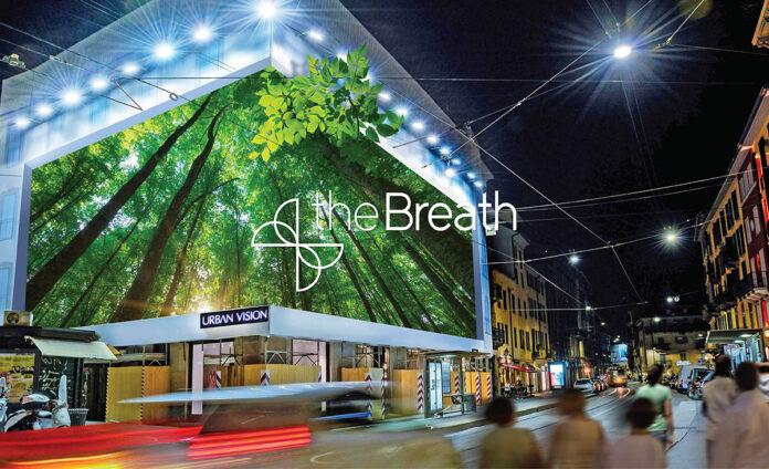 The Breath, il pannello che si mangia lo smog