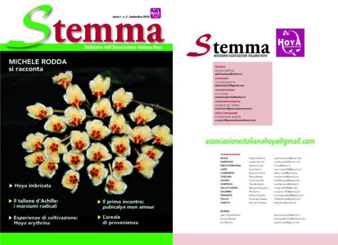 Stemma, eccolo il numero due del magazine sulle Hoya