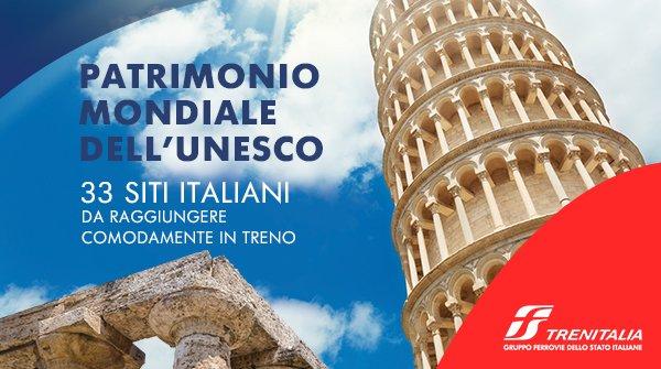 Travel Book Trenitalia, i siti Unesco tutti da scoprire