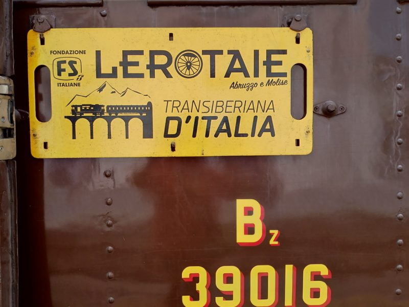 La Transiberiana d'Italia, GPN sul treno storico Centoporte