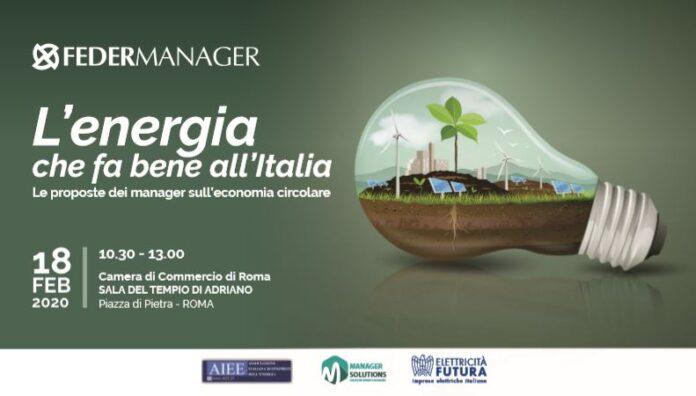 Economia circolare, transizione e sviluppo per rilanciare l'Italia