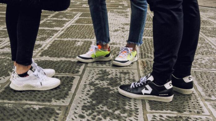 Sneakers re-evolution, le scarpe realizzate con gli scarti alimentari
