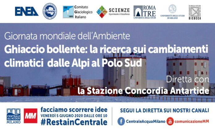 Centrale dell'Acqua Milano, in diretta dall'Antartide con la Stazione Concordia
