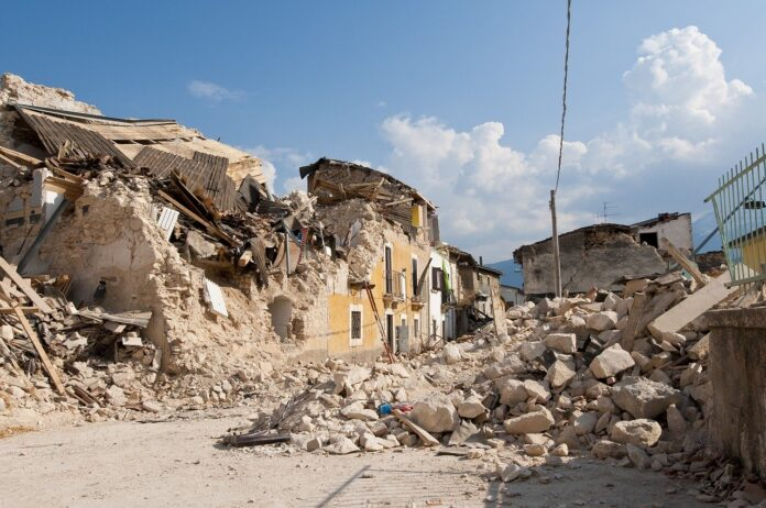 Ricostruzione post-sisma: satelliti e sensori per la gestione delle macerie