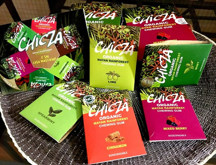 Chicza, il chewing-gum che fa bene al pianeta