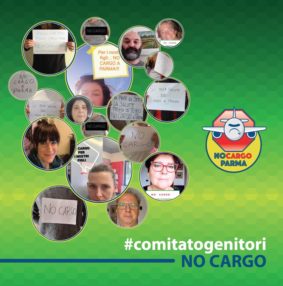 No Cargo, le famiglie che dicono NO all'aeroporto di Parma