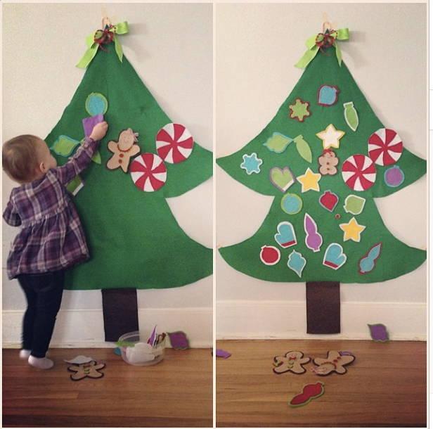 albero di Natale montessoriano