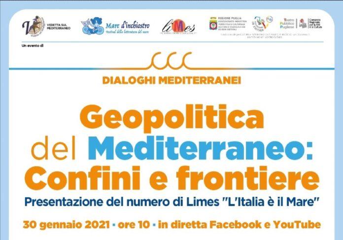 Geopolitica del Mediterraneo: confini e frontiere, Dialoghi Mediterranei al secondo appuntamento