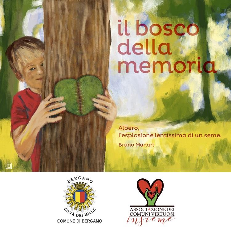 Il Bosco della Memoria di Bergamo, tra ricordo e rinascita