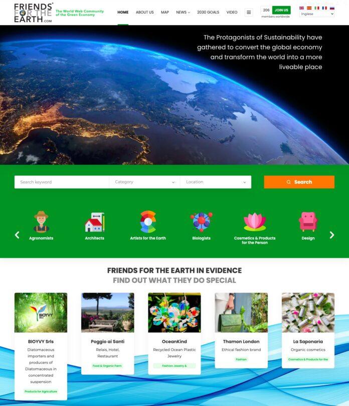 Friends for the Earth, per amore del pianeta e della green economy
