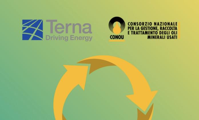 Oli minerali usati, Terna e CONOU ed un accordo strategico