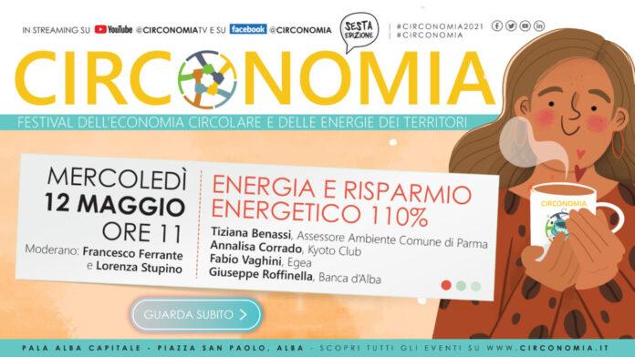 Circonomia, al via la sesta edizione del Festival dell'economia circolare e delle energie dei territori