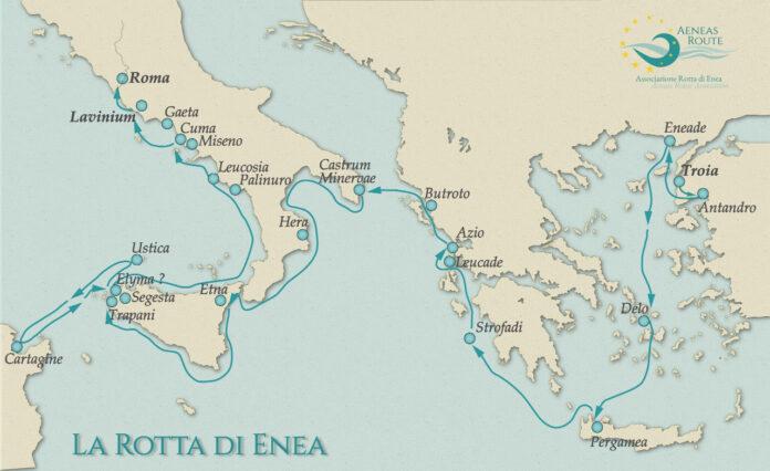 Sulle tracce di Enea, itinerario culturale certificato dal Consiglio d'Europa