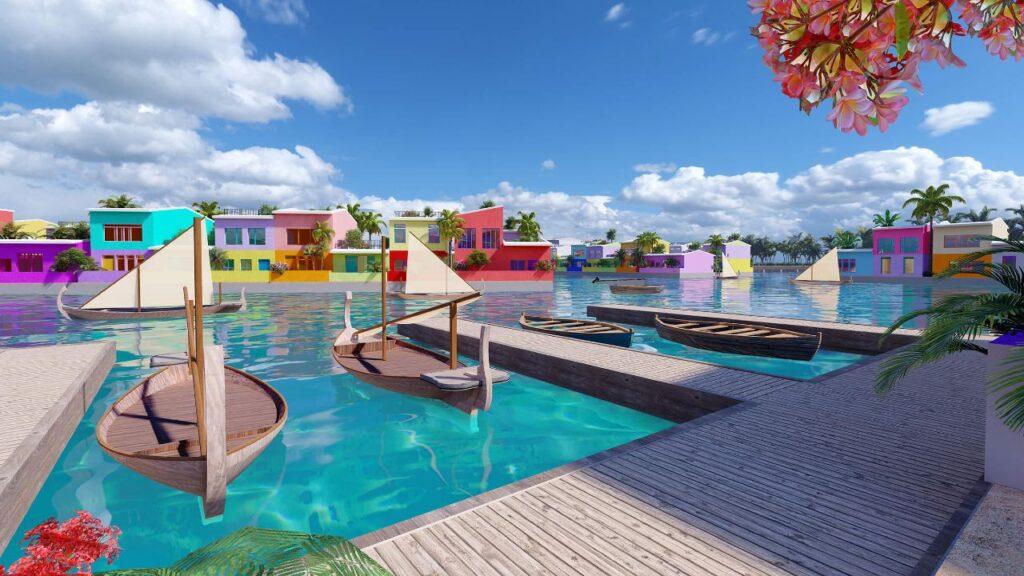 Innalzamento dei mari: progetto Maldives Floating City, la città galleggiante a forma di corallo