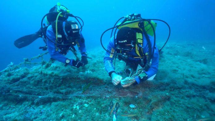 Il progetto Linea Gialla libera il mare di Sicilia da chilometri di reti fantasma
