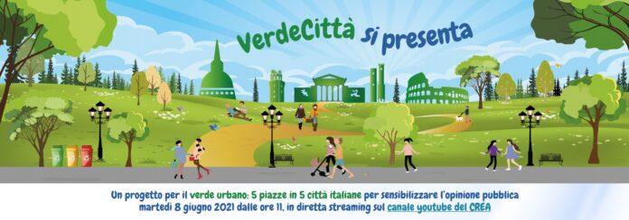 Verdecittà, presentato oggi il progetto per città più sane e sostenibili
