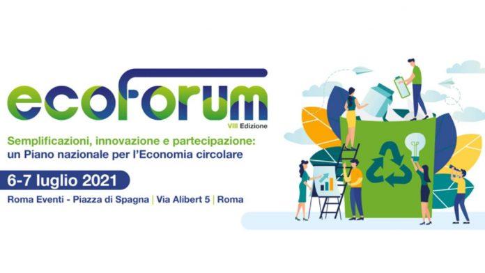 Ecoforum 2021, mettere in campo un Piano nazionale per l'economia circolare