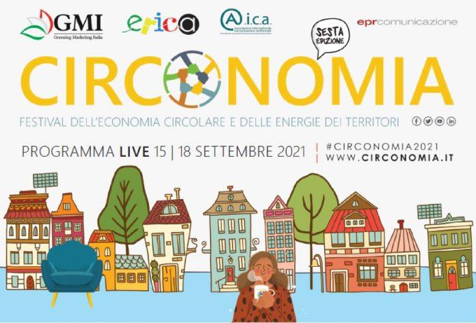 Circonomia 2021, il Festival nazionale dell'economia circolare torna live
