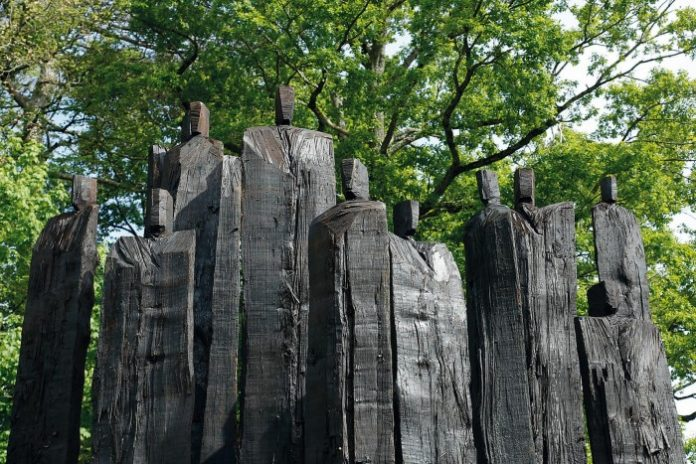 """Christian Lapie al TreeArt Festival: """"Les secrets en équilibre"""""""